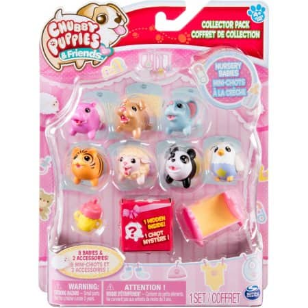 Walmart :Chubby Puppies & Friends Nursery Babies Collector, 10pk $3.77 + free store pick up