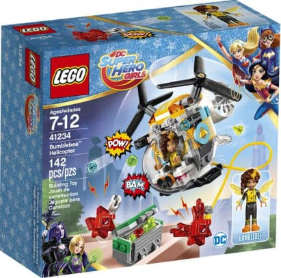 Barnes & Noble Lego Sale:41234 LEGO DC Super Hero Girls Bumblebee Helicopter $7.47 & More  + Free S/H $25+