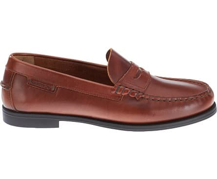 Women's Leather Sebago Penny Loafer $48, Men's Leather Sebago Plain Toe Lace Up $56 + Free S/H