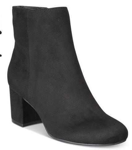 Macys Select Women's Boots $19.99, Rebel Block Heel Booties (3 colors), & More + $3 shipping