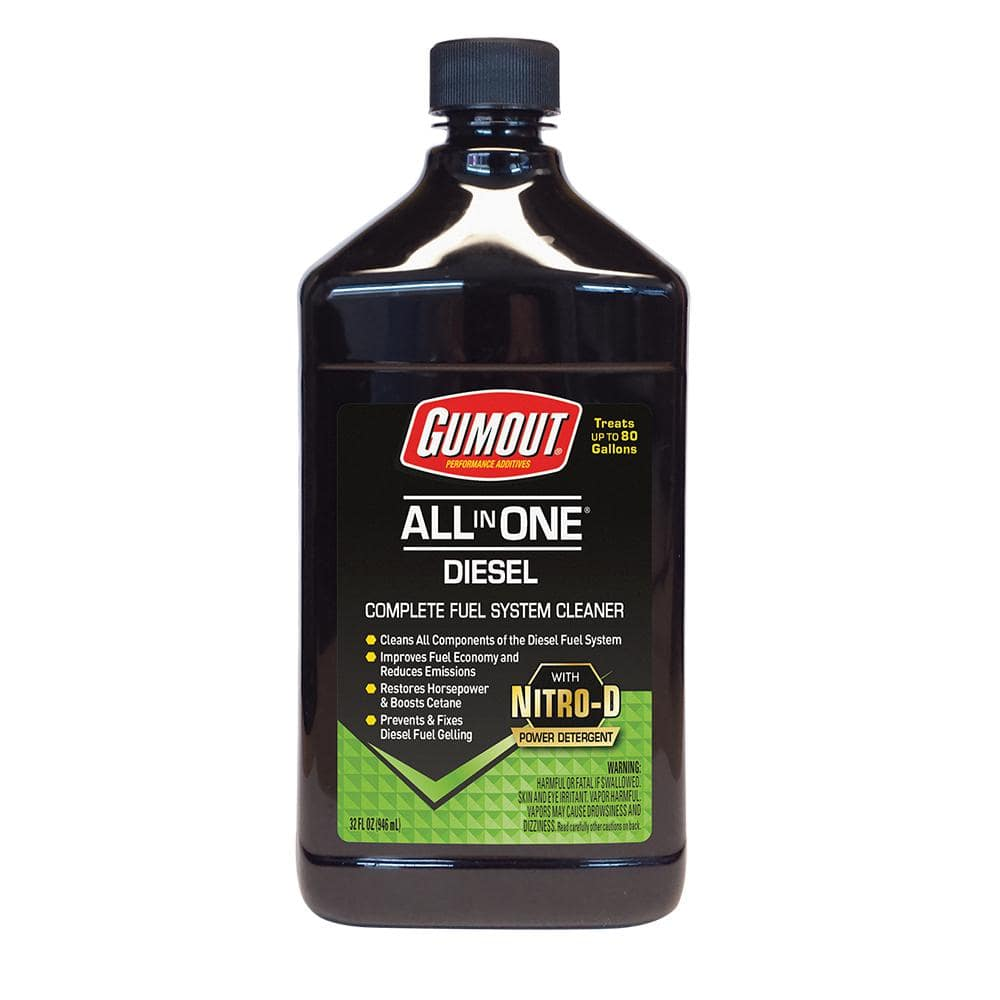 Home Depot or Menards Gumout 32 oz. All-in-One Diesel Fuel System Cleaner $4.99 after Online Rebate + Free Store Pick Up