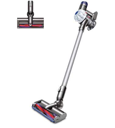 Dyson V6 HEPA + 3 Attachments $189.99, Dyson V6 Absolute + 3 Attachments $269.99 + Free S/H