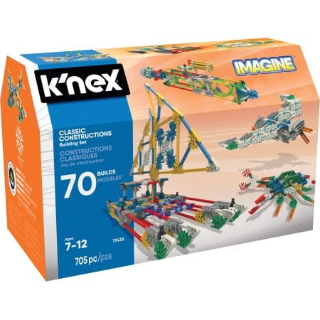 Walmart: K'NEX Imagine - Classic Constructions 70 Model Building Set $20.49, Lincoln Logs Frosty Falls Ranch $22.97 & More + Free Store Pick Up