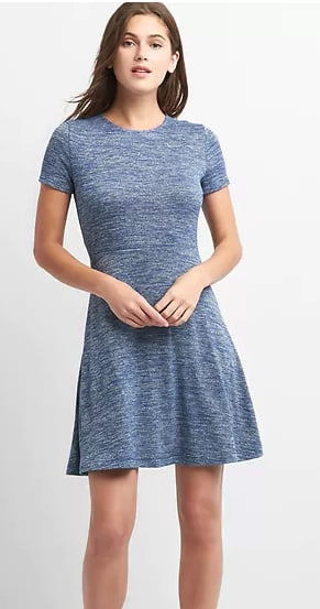 Gap: Women's Softspun Fit & Flare Dress $11.99, Tiered Ruffle Skirt $9.60 & More + Free S/H