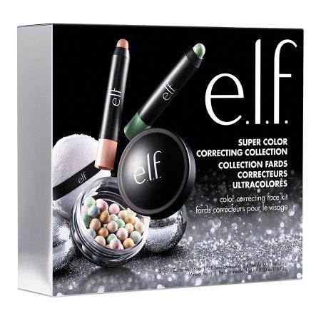 Walmart: e.l.f. Cosmetics 3 Pc Super Color Correct Collection $4.91, 3 Pc Sculpt & Shine Brush Set $3.65 & More + Free Store Pick Up