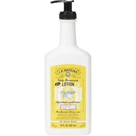 Walmart: J.R. Watkins Daily Moisturizing Lotion Lemon Cream, 18.0 FL OZ $3.14 + Free Store Pick Up