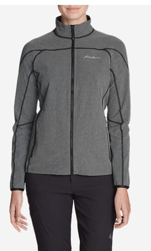 Eddie Bauer Women's Sandstone Soft Shell Jacket $35.99 - Various Colors + Free S/H ShopRunner