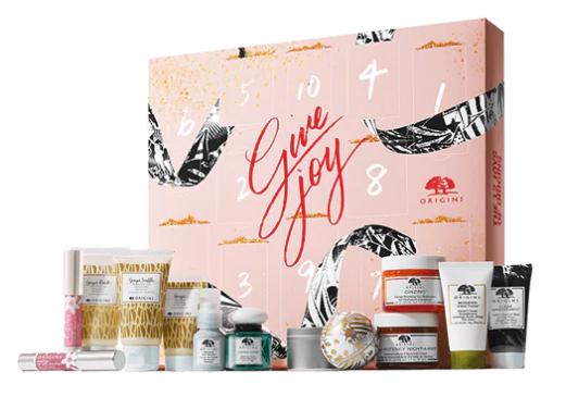 Origins 13-Pc. Give Joy Super Set + 7 Origins Samples, Cosmetic Bag & Gift Wrap $49 + Free S/H