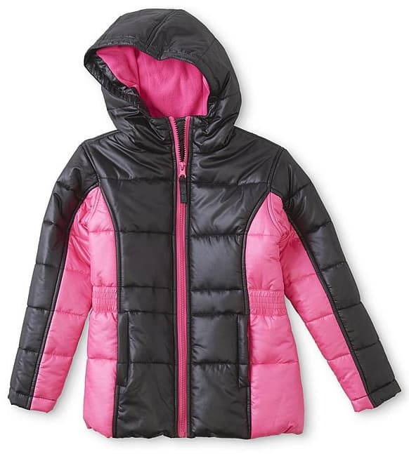 Sears SYW Members: 2 Kids Puffer Coats + 2 Bib Snow Pants, Knit Hat & Gloves + $50 SYW Points: $55.96, Free S/H