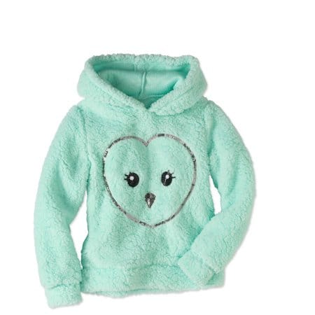 Walmart: Miss Chievous Girls' Plush Fleece Character Hoodie $4 - Various Designs & Free Store Pick Up