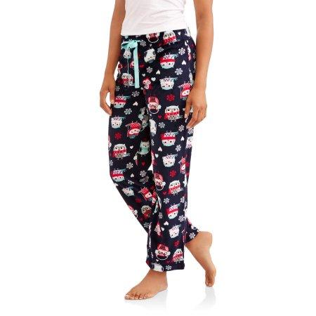 Walmart: Secret Treasures Women's Super Minky Plush Pajama Sleep Pants $3 Various Designs + store pick up