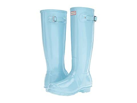 6PM.com Women's Pale Mint Hunter Boots $69.99, Tall Gloss or Original Short + Free S/H
