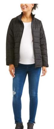 Walmart: Faded Glory Maternity Lightweight Bubble Jacket $4.50, 2 Pc Cami Set $3.99 + free store pick up