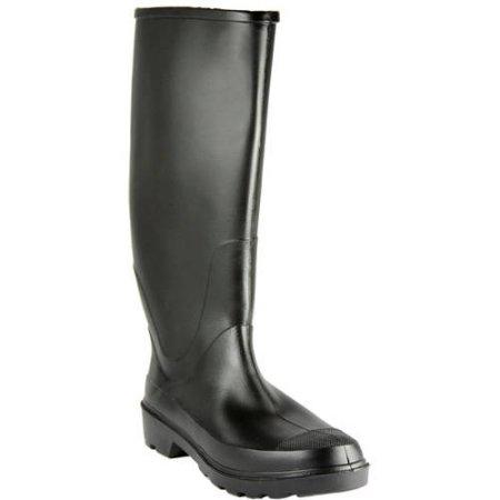 "Walmart: Men's Waterproof 15.5"" Rain Boots $10 - Back In Stock + free store pick up"