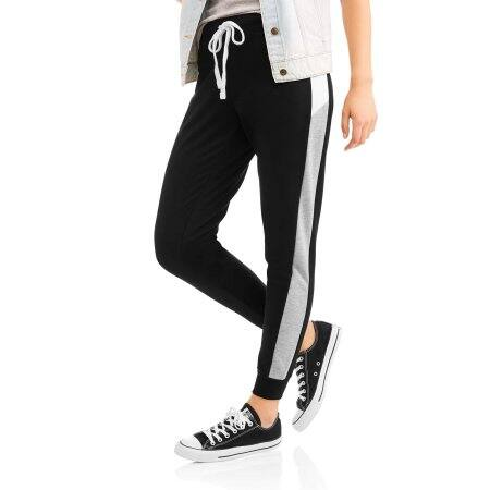 Walmart: No Comment Women's Athleisure Color Block Jogger $5 & More + Free Store Pick Up
