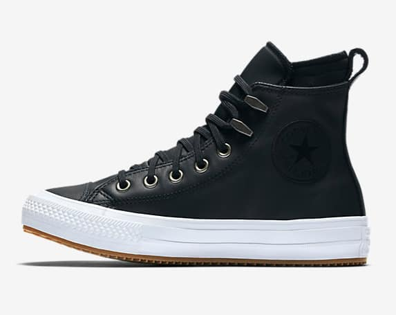 50c79583c666 Converse Flash Sale  Chuck Taylor All Star Waterproof Leather Boots ...