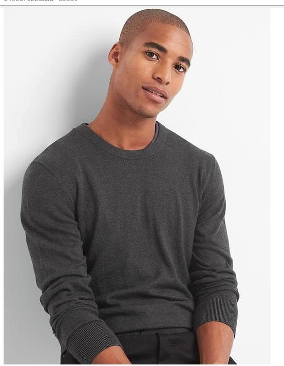 GAP Men's Cotton L/S Crewneck Sweater $9.99, Women's Linen Shirred Cami $4.99 & More + Free S/H