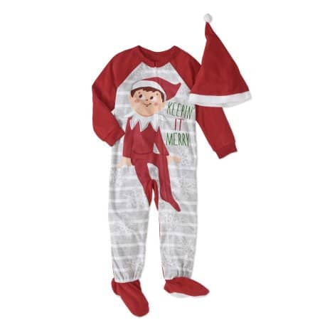 Walmart: Toddler 2Pc Holiday PJ Set $4, Elf On The Shelf, Gingerbread Man & More + store pick up