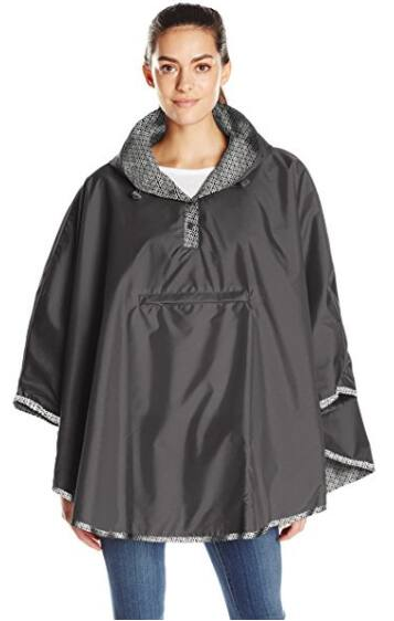 Totes Reversible/Packable Lined Rain Poncho For Women $24.99 - Various Colors + Free S/H