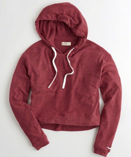 Hollister Clearance Girls Boxy Hoodies $9.98 & More + Free ...