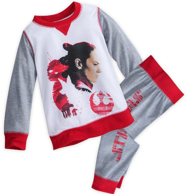 ShopDisney Girls Rey Sleepset: The Last Jedi $3.99 (sz 4-10), Kids Chewbacca One Piece PJ $4.99 (sz 4-7) & More + Free S/H