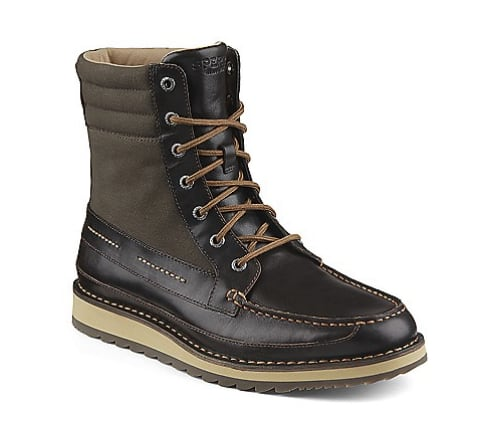 Sperry Flash Sale: Men's Dockyard Leather Boots  $67.98, Women's Sky Sail Suede Sneaker $27.18 & More + Free S&H
