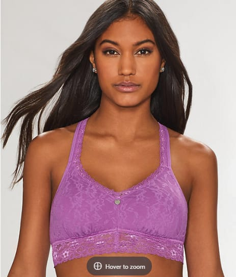 b6da3edde4 Bare Necessities 25% Off Clearance  DKNY Lace Racerback Lilac Bralette  EXPIRED