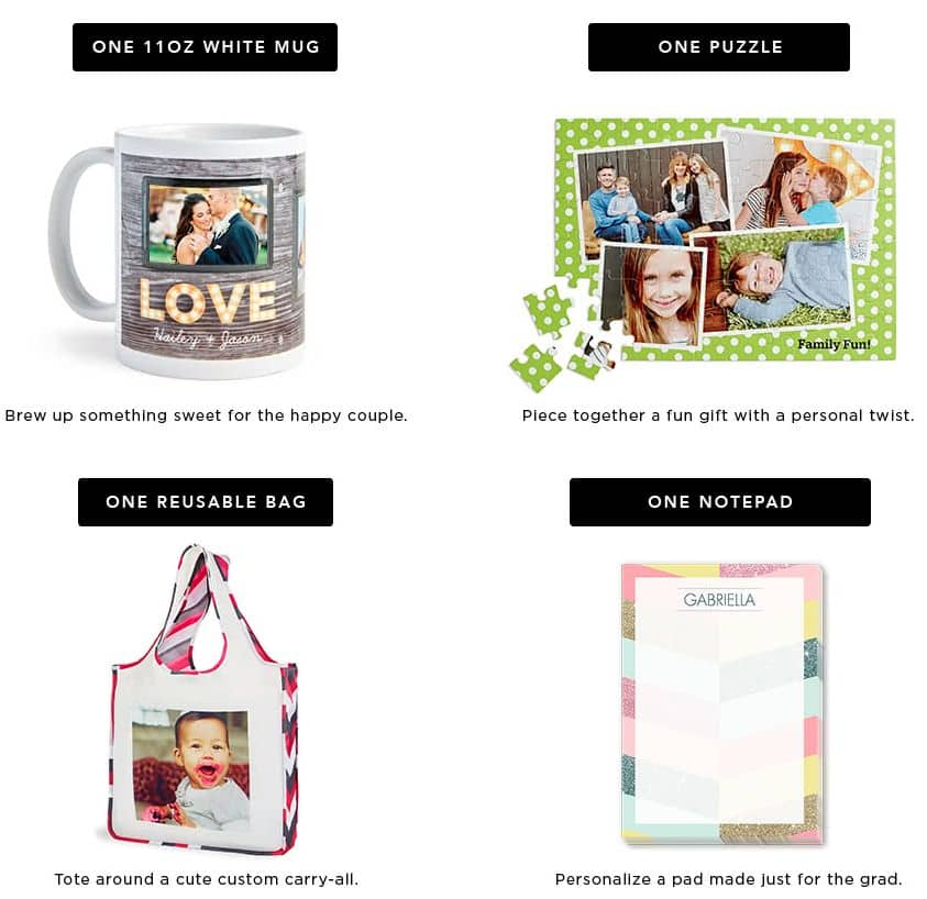 Shutterfly Pick 2: Reusable Shopping Bag $7.99, Puzzle $8.99 Or Notepad $5.99 Shipped