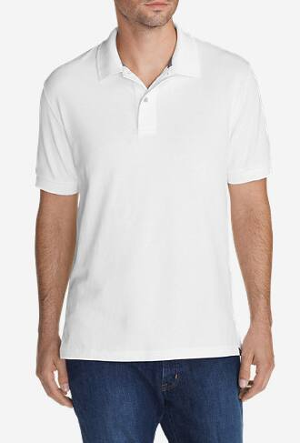Eddie Bauer Extra 50% Off Clearnace: Men's White Field Polo $10, Ashford Backpack $17.50 & More + Free S/H $25+ ShopRunner
