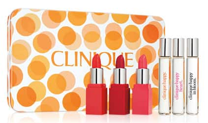 f297d24e719b Macy s Clinique 7 Pc Pops of Happy Gift Set + 7 Pc Clinique Bonus Days Gift  · See Deal