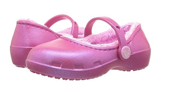 6PM.com: Toddler Girls Crocs Clog $8.75, Women's Frye Amy Peep Lace Bootie $69.99 + Free S/H w/Amazon Prime