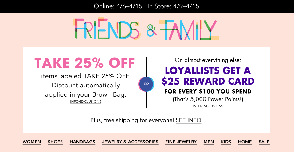 Bloomingdales Extra 25% Off Clearance + Free S H Loyalists Members ... 36a50c2dc6