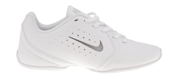 0cf49b54e4b Nike Girls  Sideline III Insert Cheerleading Shoes (White ...