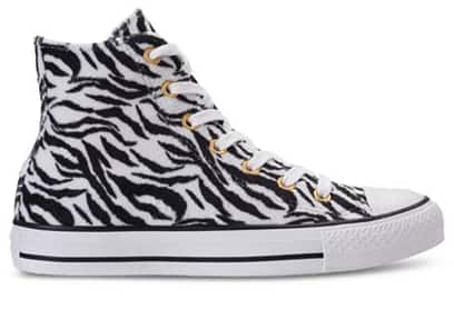 Macy's Converse Women's Chuck Taylor Ox Animal Print High Top Sneakers $20.98 + shipping