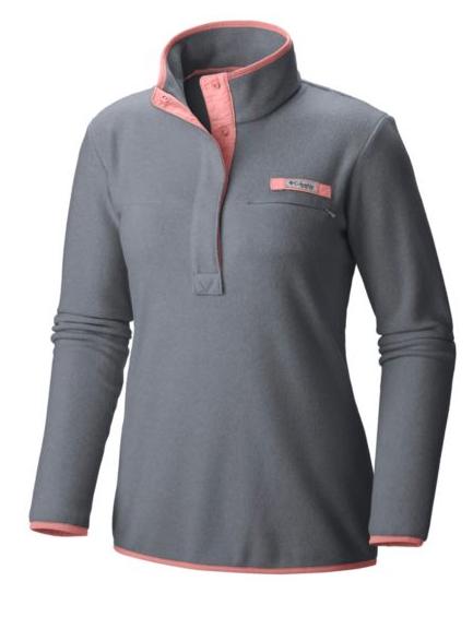 Columbia Women's PFG Harborside Fleece Pullover Jacket $23.98 Various Colors + Free Shipping Rewards Members