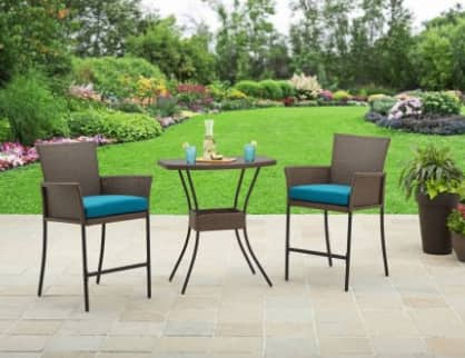 Better Homes and Gardens Fairfield Bay 3-Piece Balcony Bistro Set $139 + Free S/H