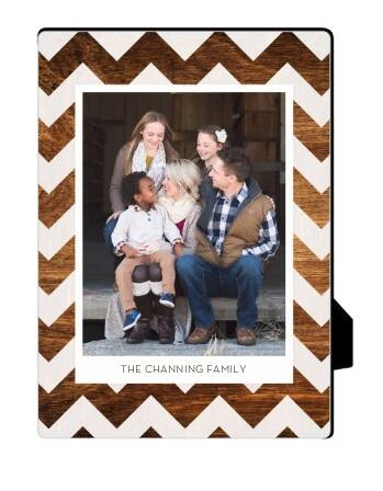 "Shutterfly Personalized 5""x5"" or 5""x7"" Desk Plaque $9.99 Shipped"