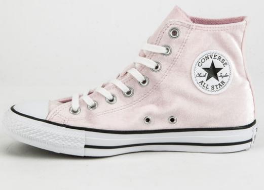 Tillys Women's Lt Pink Converse Chuck Taylor All Star Velvet High $22.98,  Adidas Swift Run Pink Womens Shoes  $37.98 & More + Free S/H