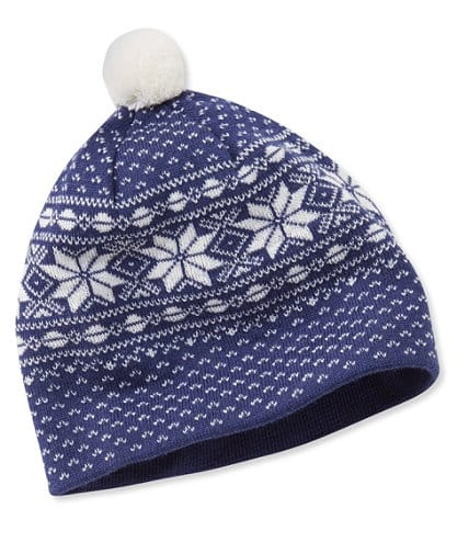 LL Bean Extra 25% Off Sale Items: Nordic Ski Hat $7.49, DigiKnit Reversible Hat $4.49 & More + Free S/H $50+