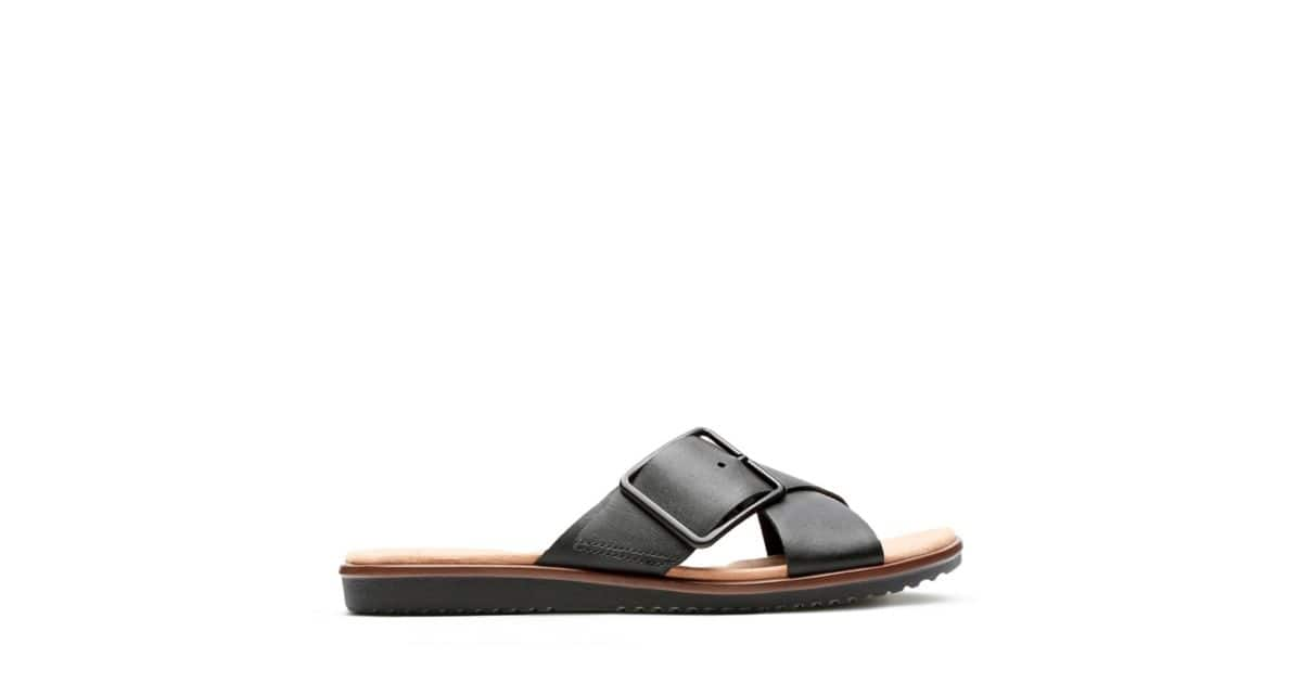 2e82ef47aa6 Clarks   10 Off + 30% Off Select Sale Sandals  Women s Kele Heather Leather  Sandal or Men s Lacono Sun Sandal  27.99   More + Free S H