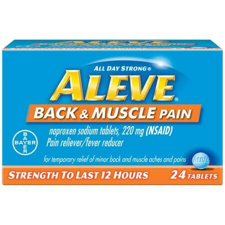 Walmart In Store Offer: 2 Pc Aleve Back & Muscle 24ct $7.52 or less, Receive $13 Fandango Code