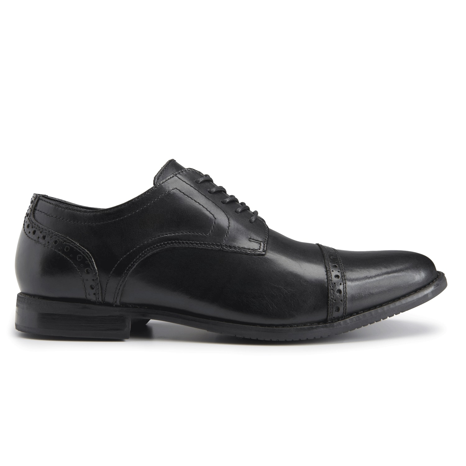 Rockport: Men's Style Purpose Cap Toe $48.99, Women's Total Motion PInk Leopard Pointed Toe Pump $27.99 & More + Free S/H w/Account
