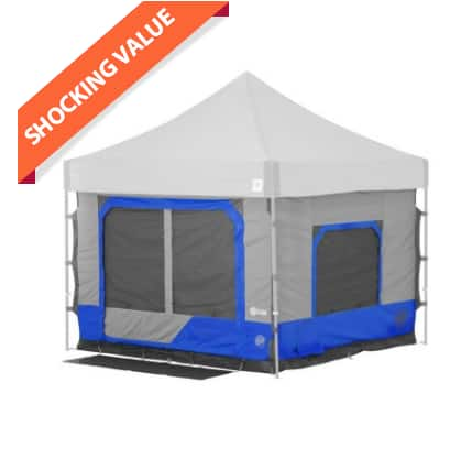 Sam's Club: E-Z UP Camping Cube 6.4, Straight Leg with Carry Bag $117 + Free S/H