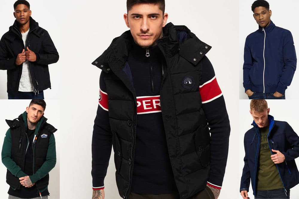 Superdry Men's Jackets $38.99 -Various Styles + Free S/H