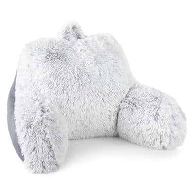 JCPenney Home Expressions Soft and Cozy Faux Fur or Cozy Plush Backrest Pillow $12 + free store pick up
