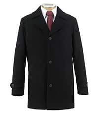 585311dbc Jos A Bank Clearance Traveler Collection Traditional Fit 3/4 Reversible  Coat $49.99, Executive