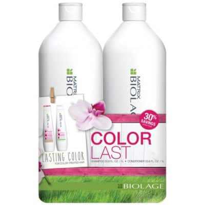 JCPenney 2-Piece 33.8-Oz Matrix Biolage Shampoo & Conditioner Set $16.57 ($8.29 per 33.8oz) + free store pickup (colorlast, exquisiteoil & more)