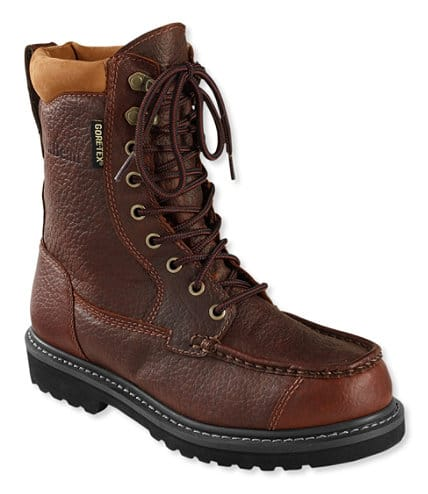 Ll Bean Today Only Men's Gore-Tex Kangaroo Upland Boots, Moc-Toe Leather Insulated $89.25 + Free S/H