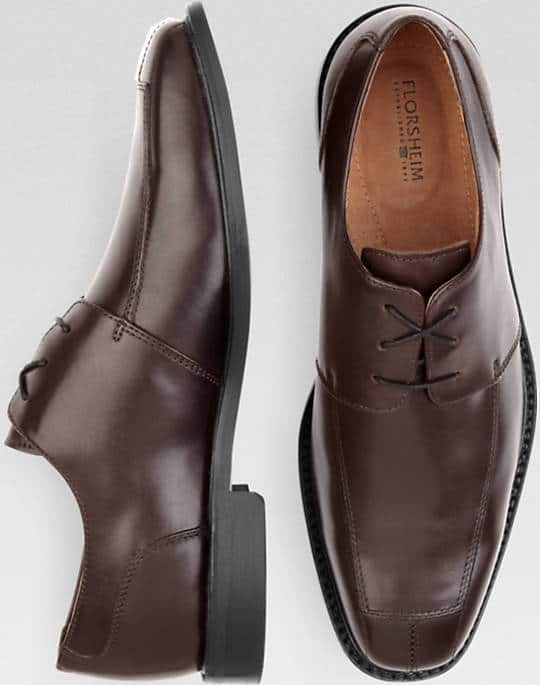 Men's Wearhouse Florsheim Ashlin Burgundy Leather Lace-Up Shoes $39.99 (sz 8.5-11.5) +  Free S/H Rewards Members
