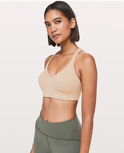 Lululemon:Women's Speed Up Bra C/D $29, Moment to Movement 2 in 1 Tank $34 & More + Free S/H